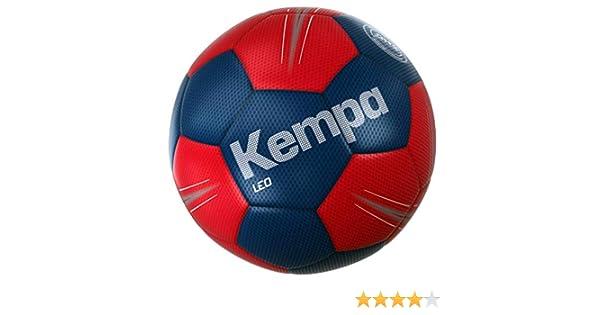 Kempa - Balón de Balonmano, Color Azul y Rojo, Color Amarillo ...
