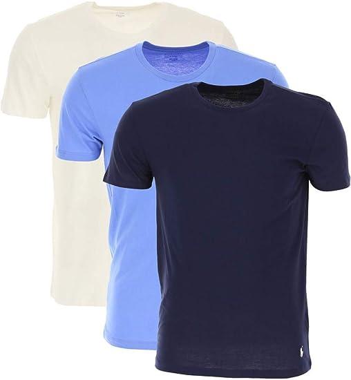 Polo Ralph Lauren Camisetas de Hombre, Paquete de 3 - Cuello ...