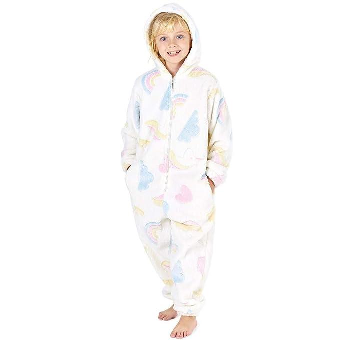 d934dfa217 Pijamas de un Pieza Niño Niña Unicornio Conejo Koala Perro Gato Dinosaurio  Pingüino Pijama Niños Niñas