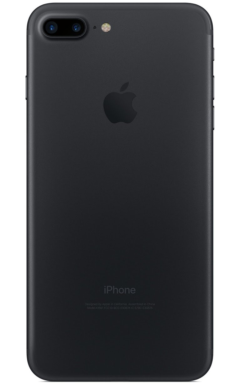 Apple iPhone 7 Plus, AT&T, 32GB - Black (Certified Refurbished) by Apple (Image #2)