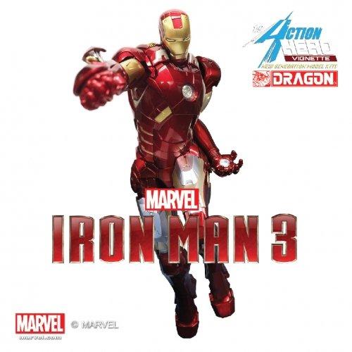 Dragon Models Iron Man 3 - Mark VII Model Kit (1/9 Scale)