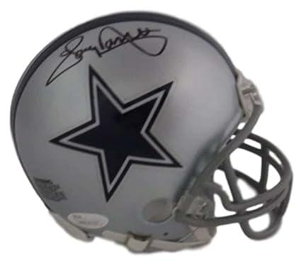 Tony Dorsett Autographed Signed Dallas Cowboys Mini Helmet in Black JSA 0ad8c32e5