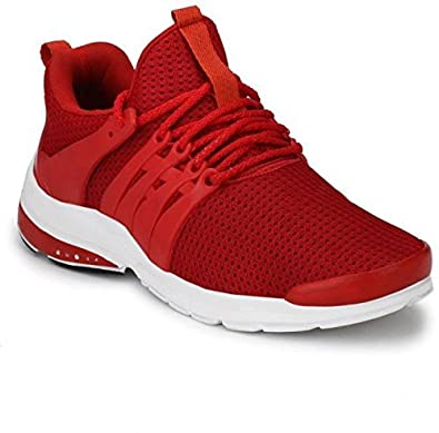 MB Mens Red Nitro Series Mesh Running Stylish Sports Outdoor Shoes