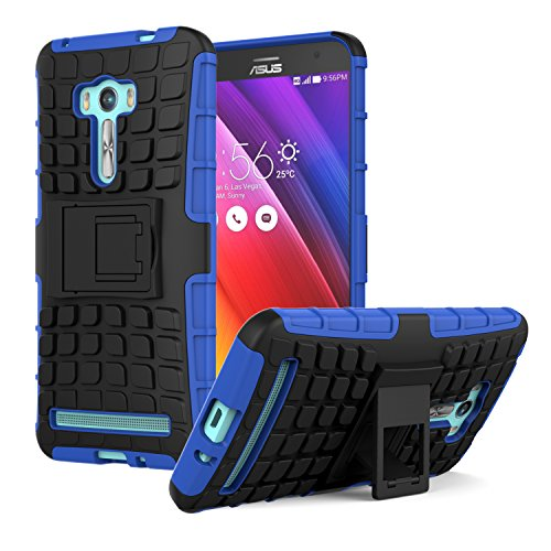 Slim Armor TPU Case for Asus Zenfone 2 (Blue) - 8