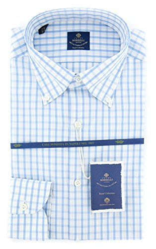 new-luigi-borrelli-light-blue-check-extra-slim-shirt