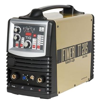 TT Fimer 205 AC/DC Inverter de soldadura WIG/MMA 200 A clase ...