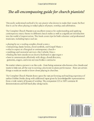 The Complete Church Pianist A Pianokeyboard Method With Tips For