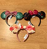 Disney Ears Minnie Mouse w/Sequence, Flower
