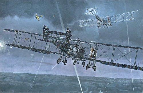 Heavy Bomber Kit - Roden Gotha G.Va/G.Vb. German Heavy Bomber Airplane Model Kit