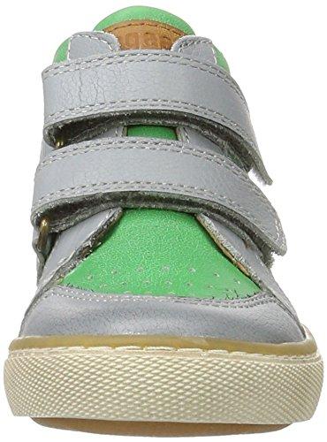 Bisgaard Klettschuhe - Zapatillas Unisex Niños Grün (1001 Green)