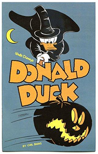 (DONALD DUCK, NM, Ashcan, Halloween, 2011, Carl Barks, more Disney in)