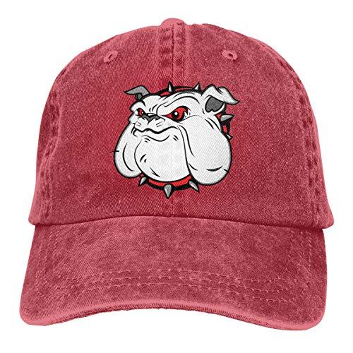 (DANDAN SHOP King's Helmet Fashion Print Denim Cotton Adjustable Hat)