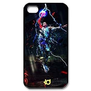 CTSLR Kevin Durant Hard Case Cover Skin for Apple iPhone 6 4.7 1 Pack - Black/White - 3