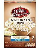 Orville Redenbacher's Naturals Light, Classic Butter & Sea Salt, 76.3g Bags, 3 Count