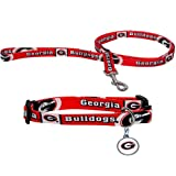 IFS - Georgia Bulldogs NCAA Dog Collar & Leash Set