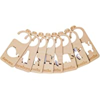 Baby Wardrobe Dividers – 8 Baby Hangers/Dividers - Arrange Clothes by Type or Age - Perfect Newborn Baby Baby Shower…