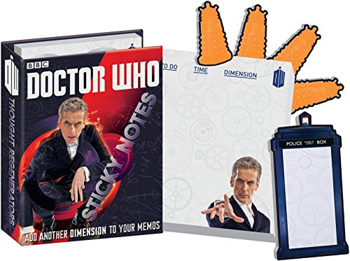 12th Doctor Who Sticky Notes Booklet - 6 Pack