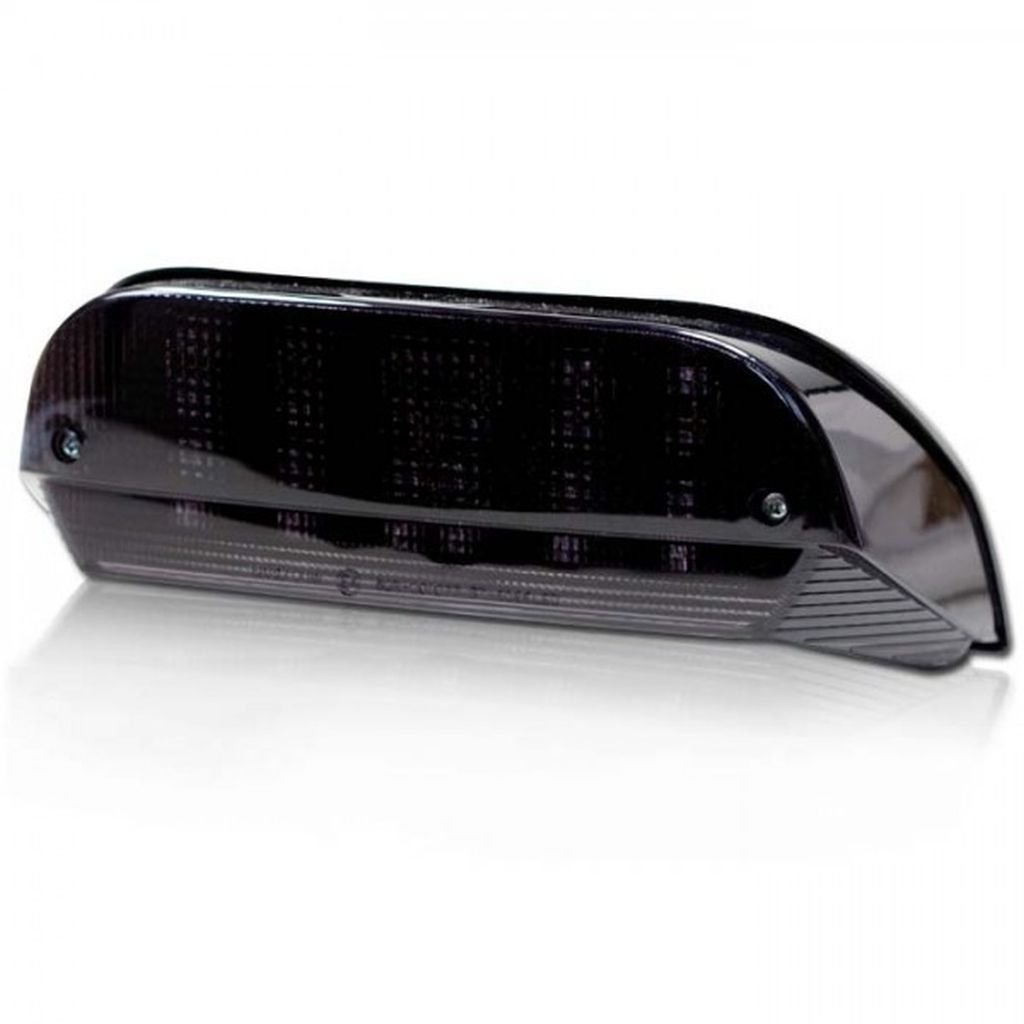 Motorrad LED Blinker Shadow light get/önt M8 E-gepr/üft schwarz Ma/ße: 50 x 16 x 14mm ALU Power LED