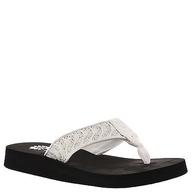 a5f22d2b871f78 Amazon.com | Yellow Box Corinna Women's Sandal | Flip-Flops
