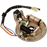 HIFROM New Ignition Stator Magneto Plate Pit Bike for 90cc 110cc 125cc Pit Bike XR50 CRF50 XR70 CRF70 Z50R SDG SSR 107 110 125 M IS01