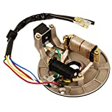 #4: HIFROM New Ignition Stator Magneto Plate Pit Bike for 90cc 110cc 125cc Pit Bike XR50 CRF50 XR70 CRF70 Z50R SDG SSR 107 110 125 M IS01