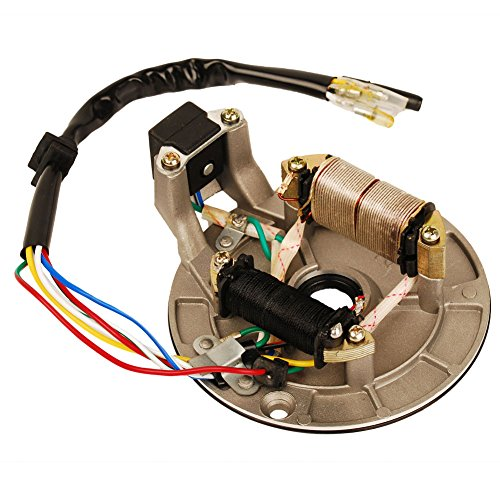 Magneto Ignition Starter (HIFROM New Ignition Stator Magneto Plate Pit Bike for 90cc 110cc 125cc Pit Bike XR50 CRF50 XR70 CRF70 Z50R SDG SSR 107 110 125 M IS01)