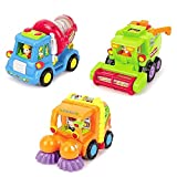 Friction Powered Cars Construction Vehicle Toys for Baby...