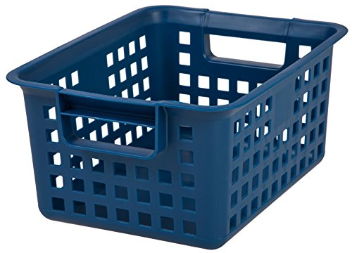 IRIS Medium Plastic Storage Basket