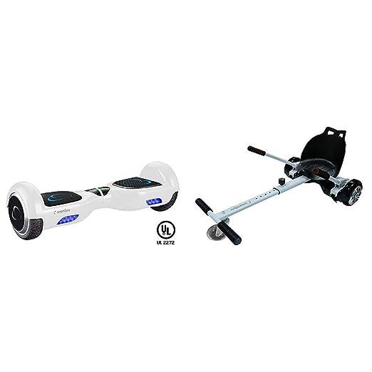SmartGyro X2 UL - Patinete Eléctrico Hoverboard, Ruedas de 6.5