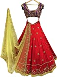 gowns for women party wear Red (Surat4fashion lehenga choli for Diwali festival Lehenga choli for women gowns for girls party wear 18 years latest sarees collection 2017 new design dress for girls designer sarees new collection today low price new gown for girls party wear)