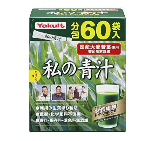Cheap Yakult Watashi No AOJIRU (Ooita Young Barley Grass) | Powder Stick | 4g x 60 [Japanese Import]
