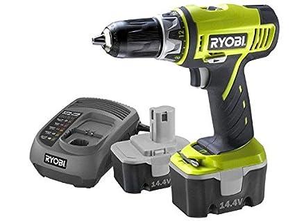 Ryobi - LCD14022 - Taladro atornillador 14,4V a batería con 2 ...