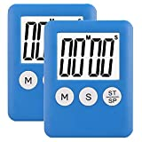 2 Pack Small Digital Kitchen Timer Magnetic Countdown - Best Reviews Guide