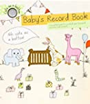 Cute As A Button Baby's Record Book F...