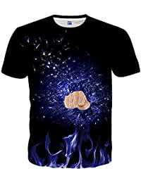Unisex Hipster Top Tees 3D Fashion Pattern Printed Short Sleeve T-Shirts