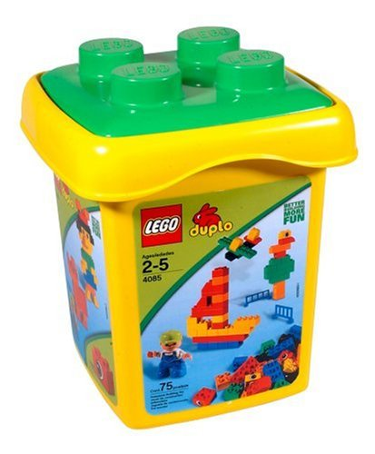 Amazon.com: LEGO DUPLO Brick Bucket Large: Toys & Games