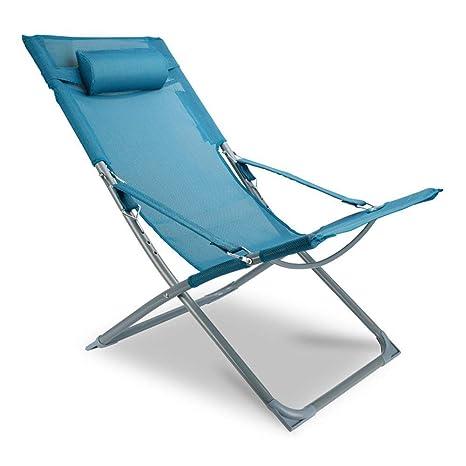 Jolly Silla de Playa Plegable de Aluminio Que acampa del ...