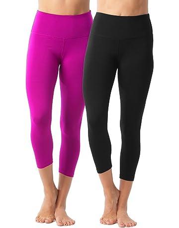 5c39672771 Amazon.com: 90 Degree By Reflex – High Waist Tummy Control Shapewear – Power  Flex Capri: Clothing