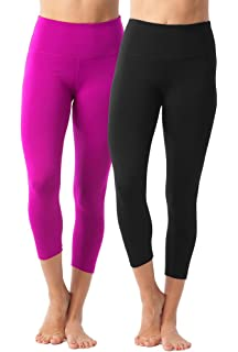 44a75fc377395 90 Degree By Reflex – High Waist Tummy Control Shapewear – Power Flex Capri