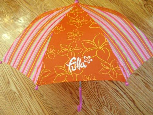 "Fulla Young mUSLIM Girls Orange And Pink 26"" Umbrella Eid Gift"