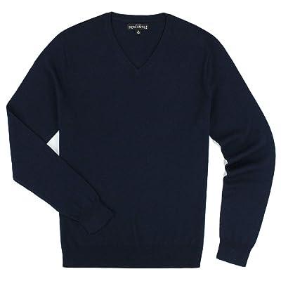J. Crew Men's Merino Blend V-Neck Sweater, Multiple Colors and Sizes at Men's Clothing store