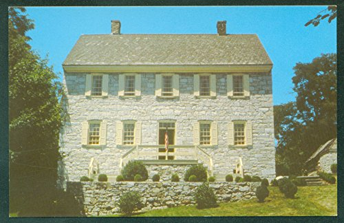 ADAM STEPHEN HISTORIC HOUSE 1774 Martinsburg WEST VIRGINIA Vintage Postcard