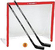 FRANKLIN NHL 46-Inch Sleeve Net PVC Goal, Stick and Ball Set