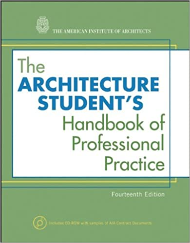 The Architecture Students Handbook Of Professional Practice 14th Edition