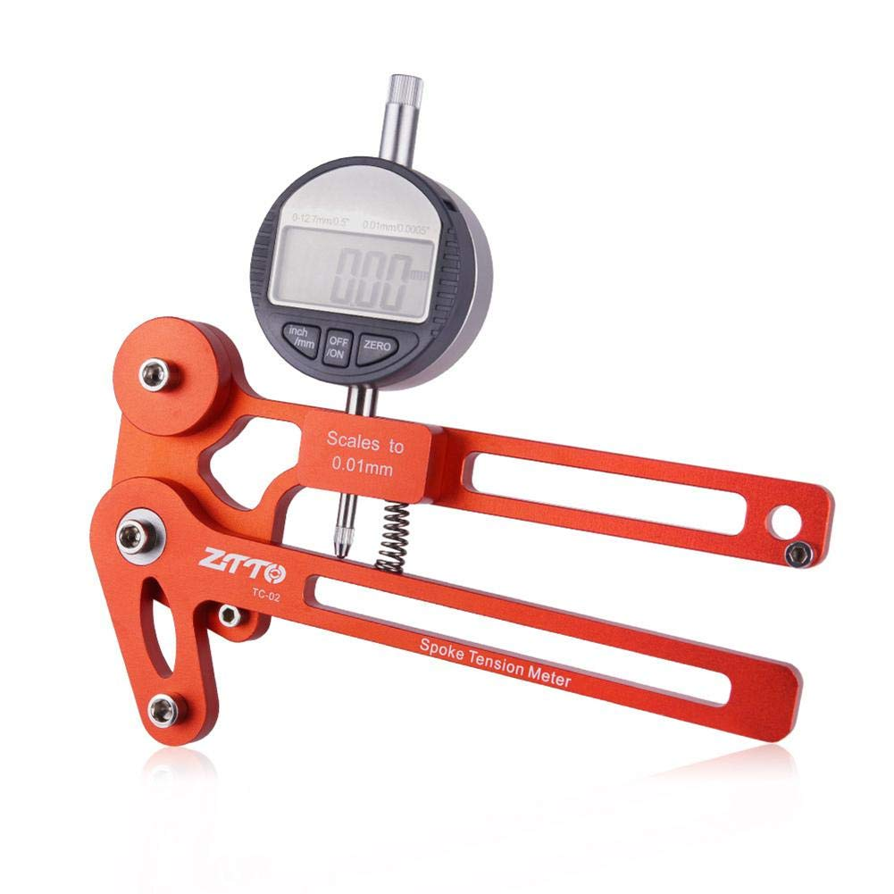 keruite Bicycle Spoke Tension Meter Wire Tension Adjustment Wheel Correction Brake Adjustment Tool consistent by keruite