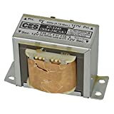 Jameco Valuepro 67-1245 Center-Tapped Power Transformer, 0.187'' Quick Connect Male Terminal, 24 VAC, 60 Watt, 5 Amps, 2.62'' Height, 4.10'' W, 2.50'' L