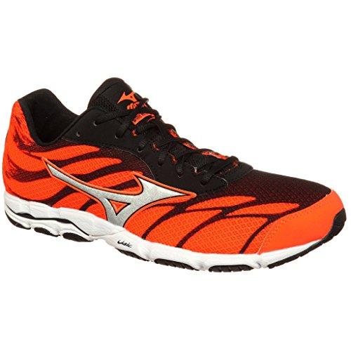 Mizuno Wave Hitogami 3, Zapatillas de Running para Hombre Negro