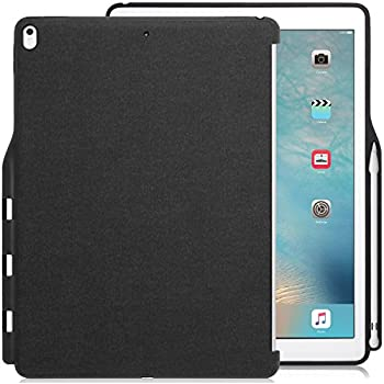 KHOMO iPad Pro 12.9 Inch Back Cover (Compatible with 2015 and 2017 version) - Companion Cover - With Pen holder - Perfect match for smart keyboard