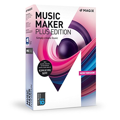MAGIX Music Maker – 2018 Plus Edition – Produce, record and mix music