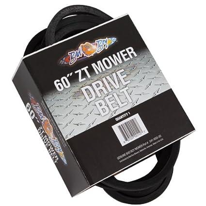 Amazon.com : Bad Boy Zt Deck Drive Belt : Lawn Mower Belts : Garden on bad boy controller diagram, bad boy horn diagram, bad boy parts diagram, bad boy accessories, lawn boy wiring diagram,